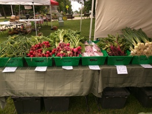 Some of Dave's beautiful produce!