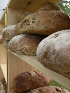 People's is always very popular at the Market with their crusty sourdoughs!