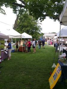 Last week's bustling Market!